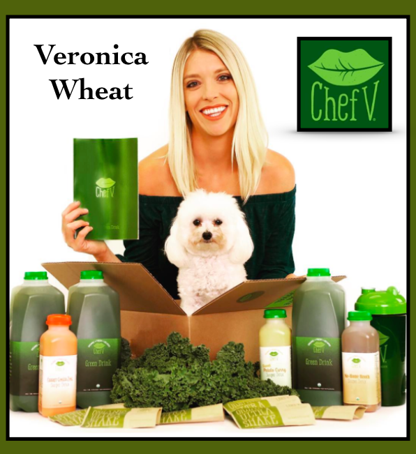 Veronica-Wheat-ChefV-Green-Cleanse-Poster