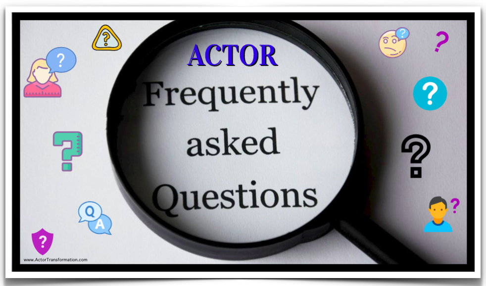 Actor FAQ Pic