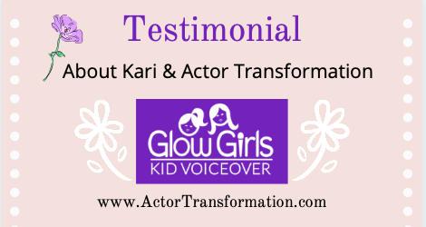 Testimoial-Kari-Nissena-Actor-Transformation-Glow-Girls