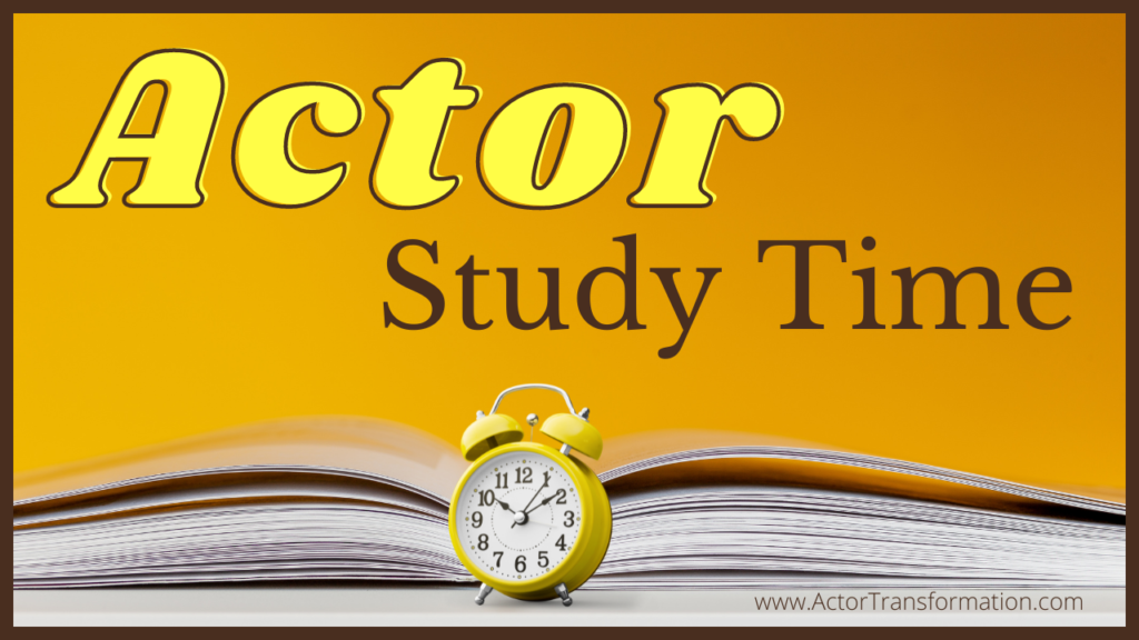 Actor-Study-Time Pic-